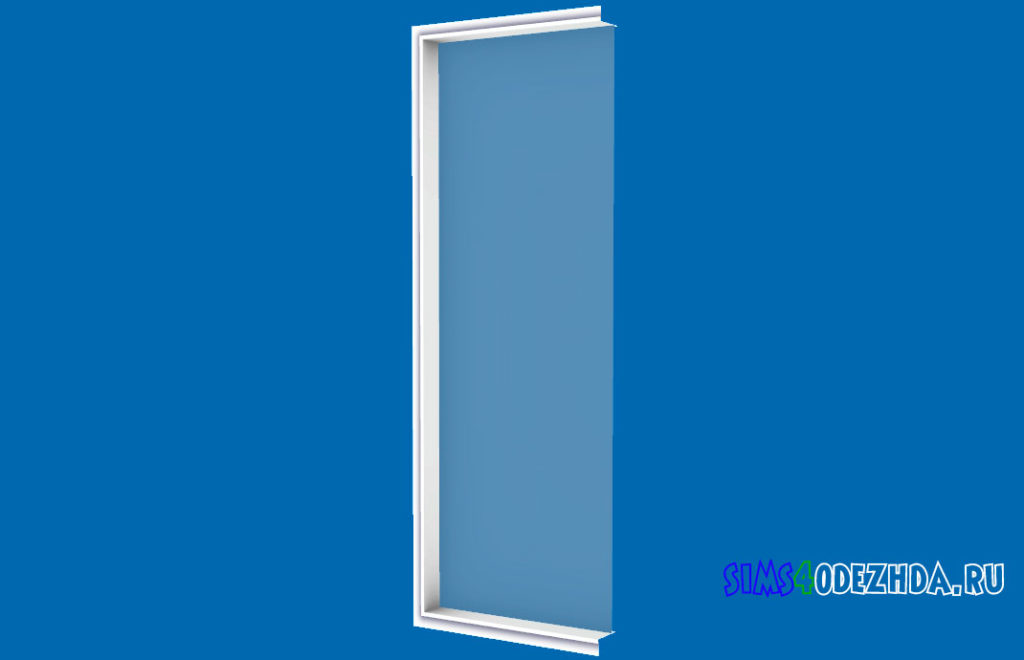 Окно-Pilton-Short-левая-часть-для-Симс-4-–-фото-2