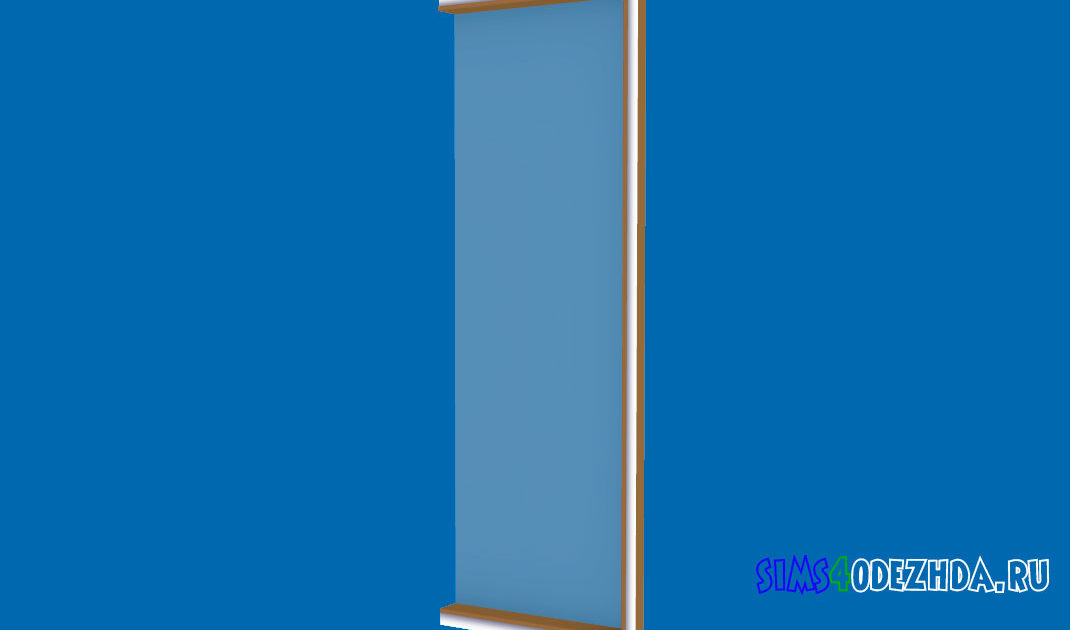 Окно-Pilton-Short-правая-часть-для-Симс-4-–-фото-1