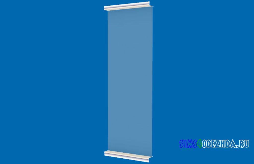 Окно-Pilton-Short-середина-для-Симс-4-–-фото-1