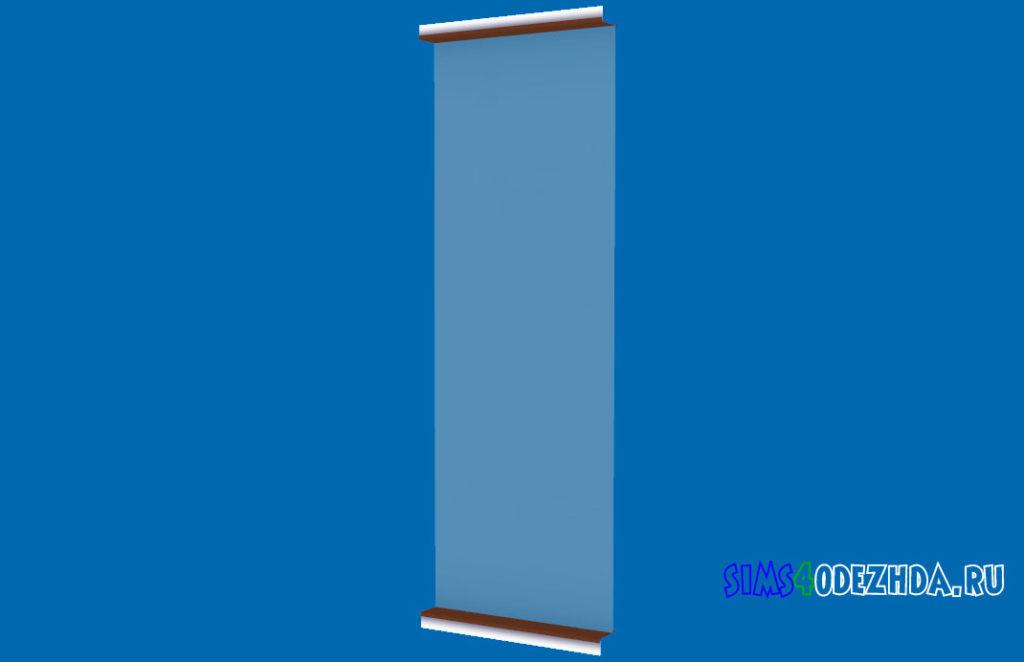 Окно-Pilton-Short-середина-для-Симс-4-–-фото-2