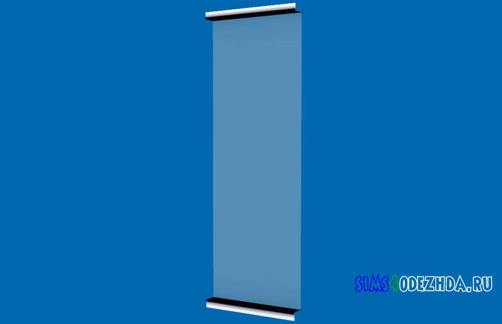 Окно-Pilton-Short-середина-для-Симс-4-–-фото-3