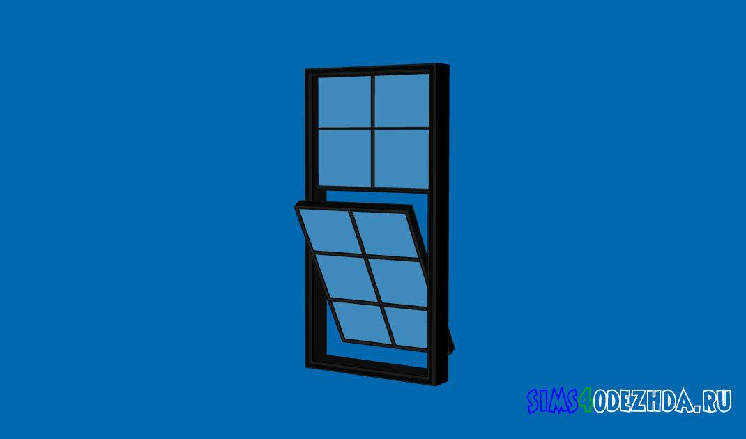 Окно-с-открытой-створкой-для-Симс-4-–-фото-1
