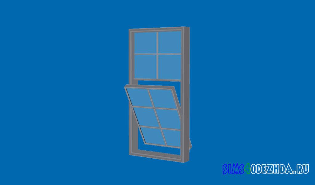 Окно-с-открытой-створкой-для-Симс-4-–-фото-2