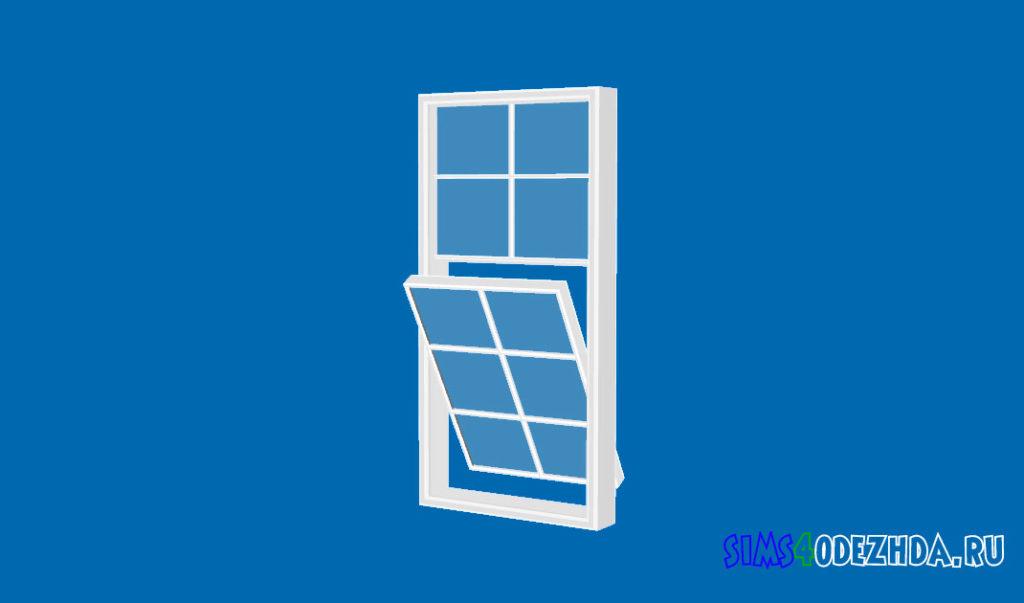 Окно-с-открытой-створкой-для-Симс-4-–-фото-3