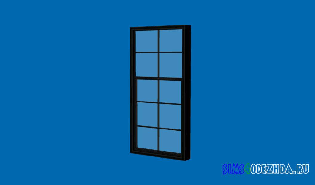 Окно-с-закрытой-створкой-для-Симс-4-–-фото-1