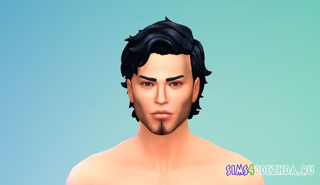 Реалистичная борода для Симс 4 – фото 1