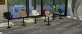 Стильный барный стул для Симс 4 – фото