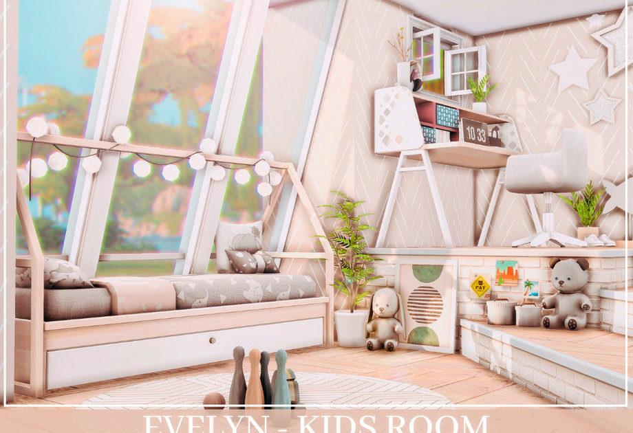 Детская комната Evelyn для Симс 4 – фото 1
