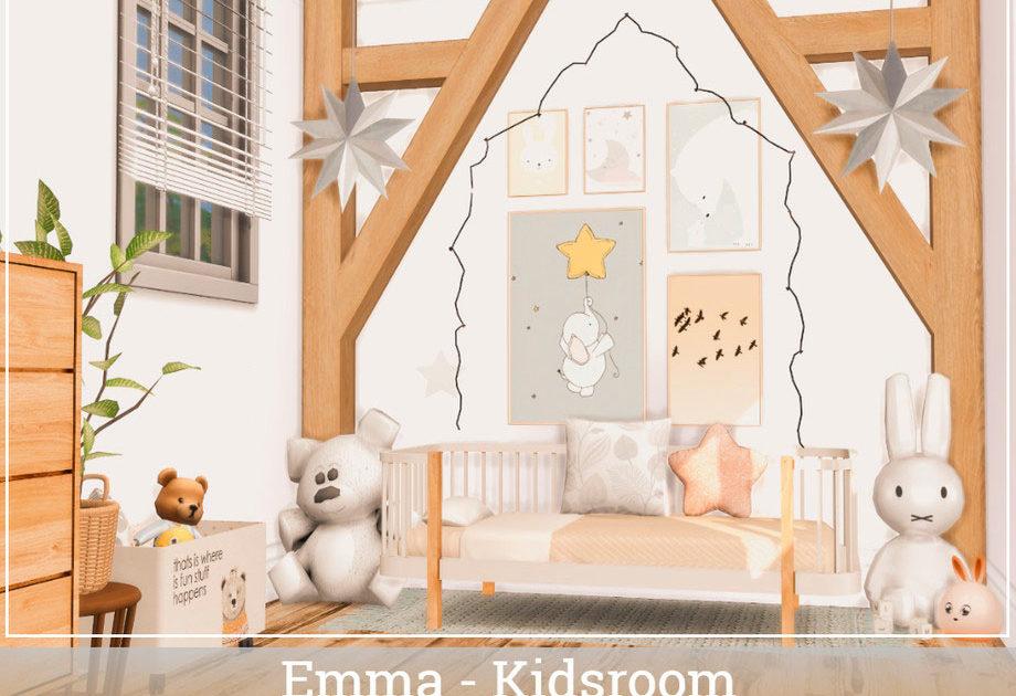 Комната для малышей Emma для Симс 4 – фото 1