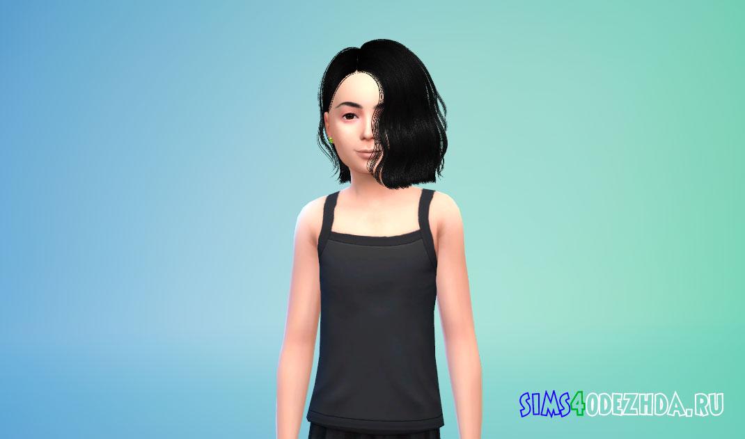 Короткие детские волосы для Симс 4 – фото 1