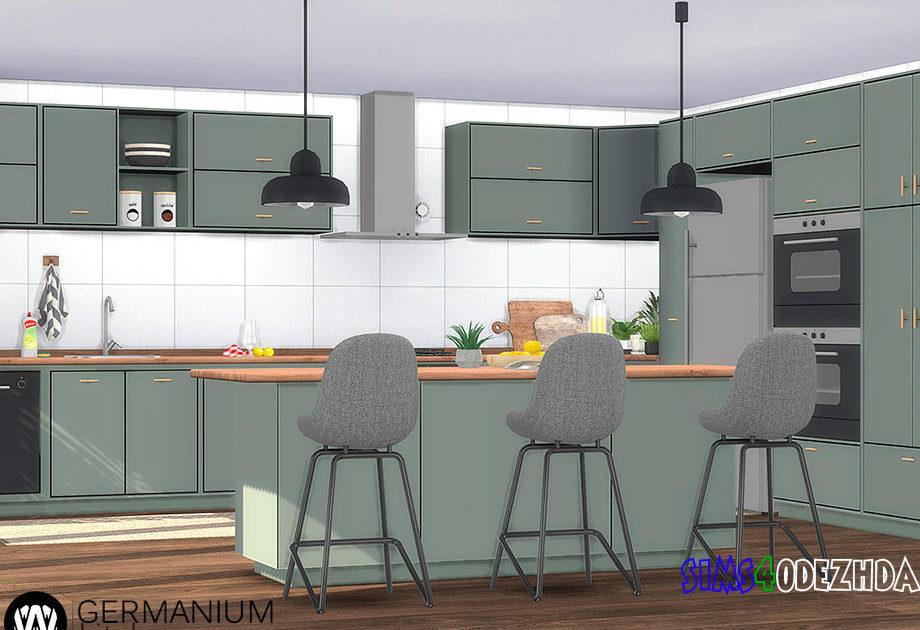 Кухня Germanium для Симс 4 – фото 1