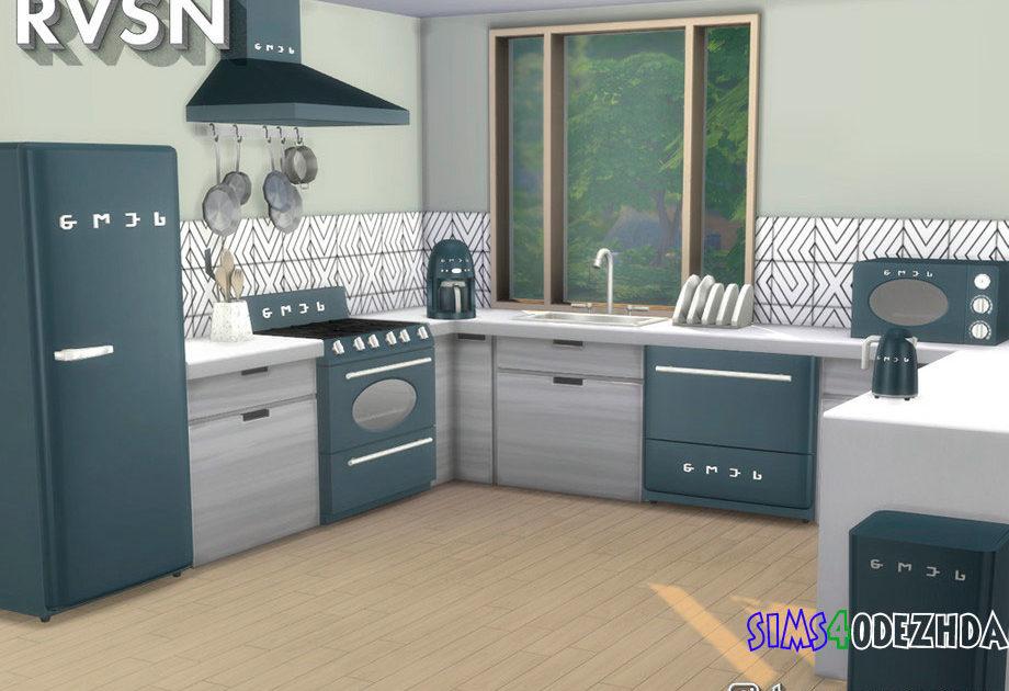 Кухонная техника в стиле ретро для Симс 4 – фото 1