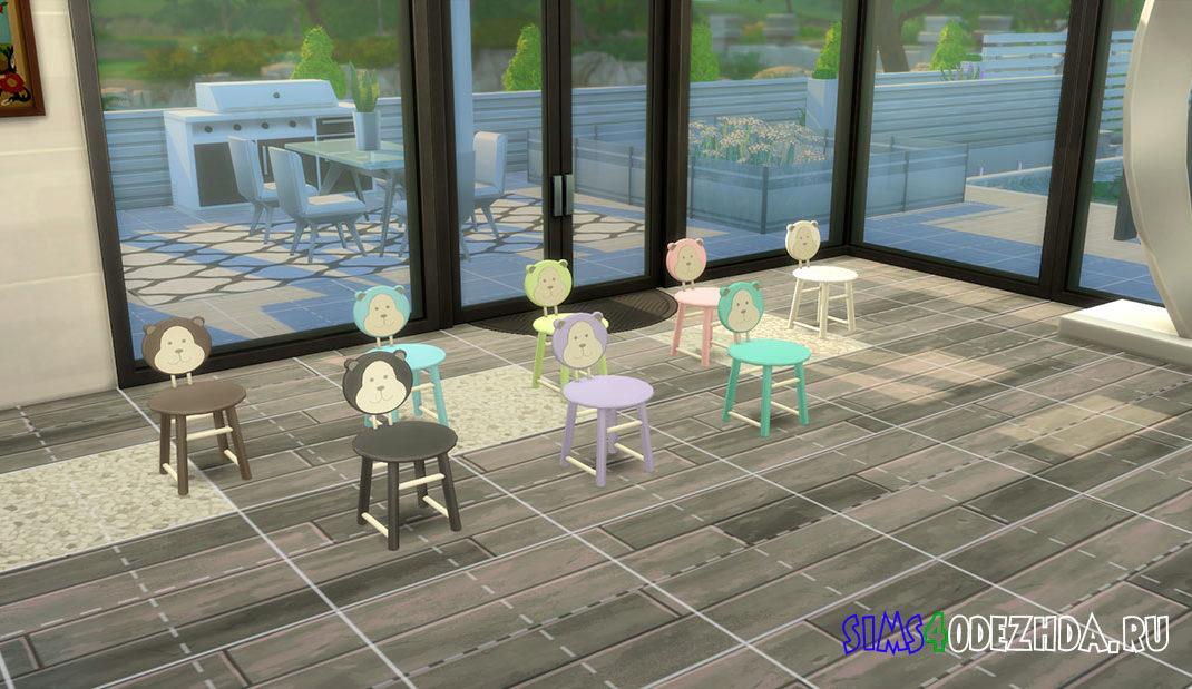 Милый стул для малышей для Симс 4 – фото