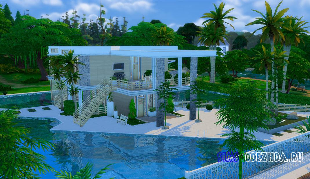 Австралийский пляжный дом для Симс 4 – фото 1