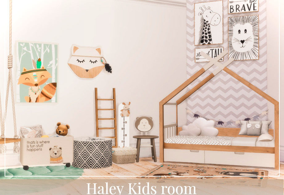 Детская комната Haley для Симс 4 – фото 1