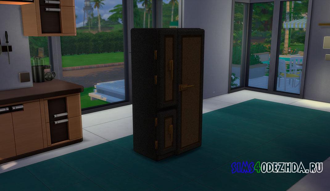Дизайнерский холодильник для Симс 4 – фото