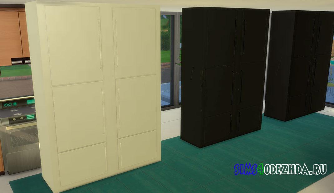 Двухдверный холодильник для Симс 4 – фото