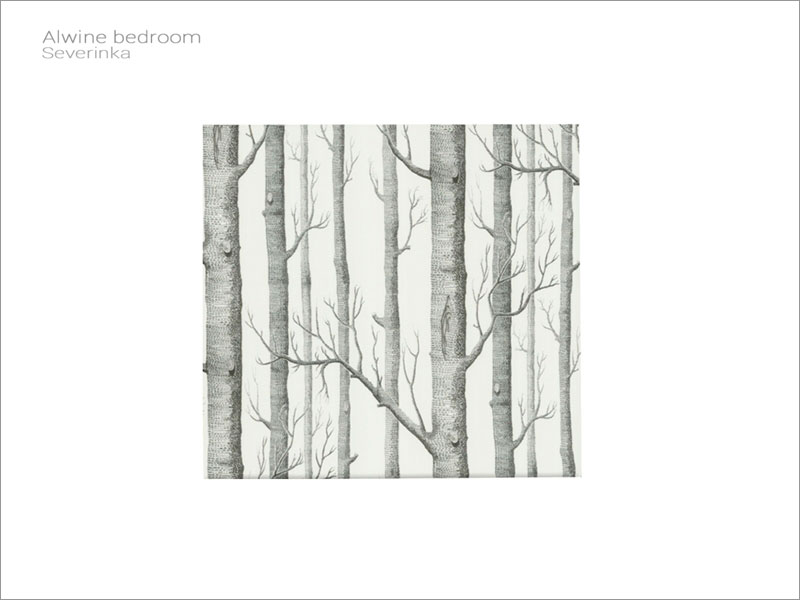 Фотопанно с деревьями для Симс 4 – фото
