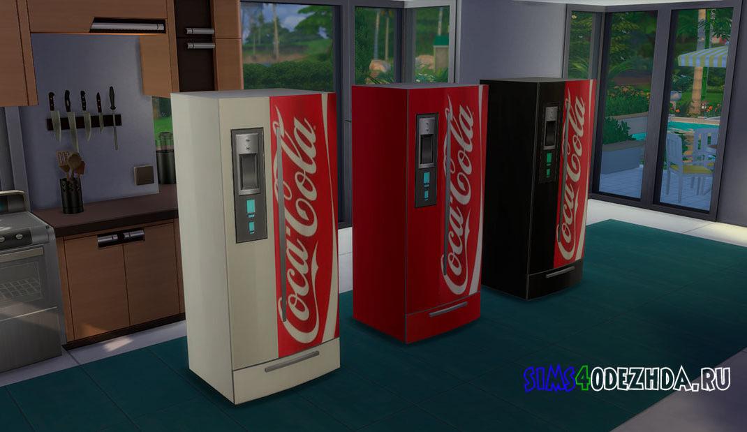 Холодильник Coca-Cola для Симс 4 – фото