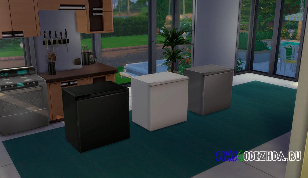 Мини-холодильник Naturalis для Симс 4 – фото