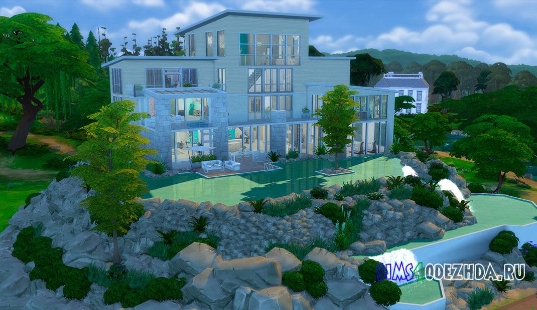 Современный дом для большой семьи для Симс 4 – фото 1