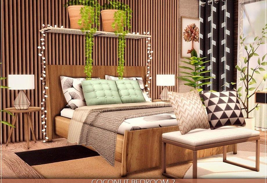 Спальня Coconut для Симс 4 – фото 1