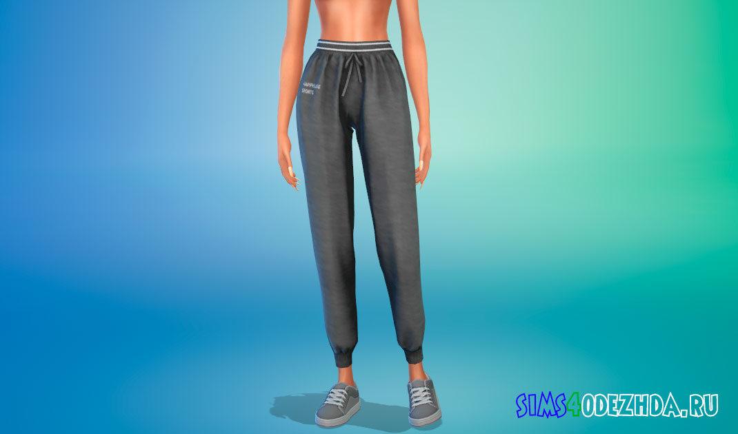 Спортивные штаны ChloeM для Симс 4 – фото 1