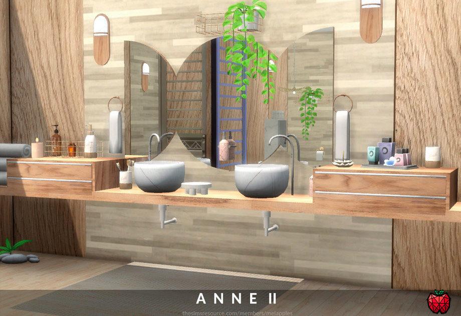 Ванная комната Anne для Симс 4 – фото 1