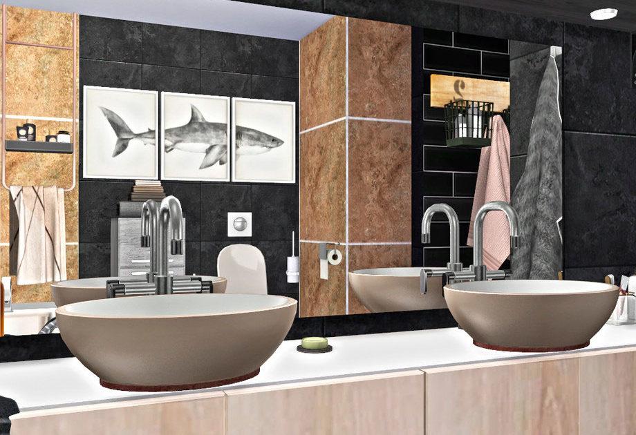 Ванная комната Graphicus для Симс 4 – фото 1