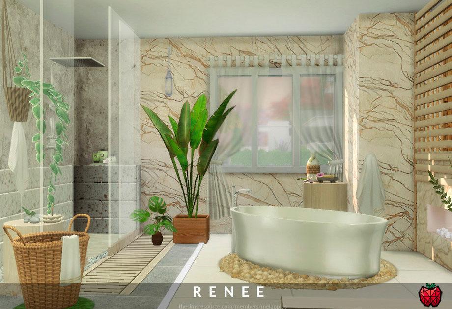 Ванная комната Renee для Симс 4 – фото 1