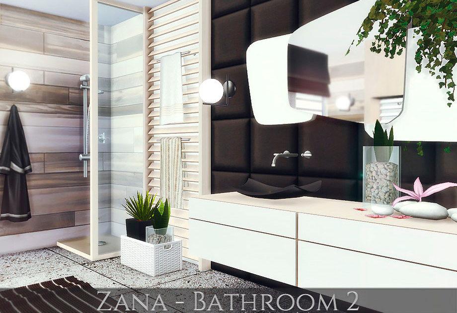 Ванная комната Zana 2 для Симс 4 – фото 1