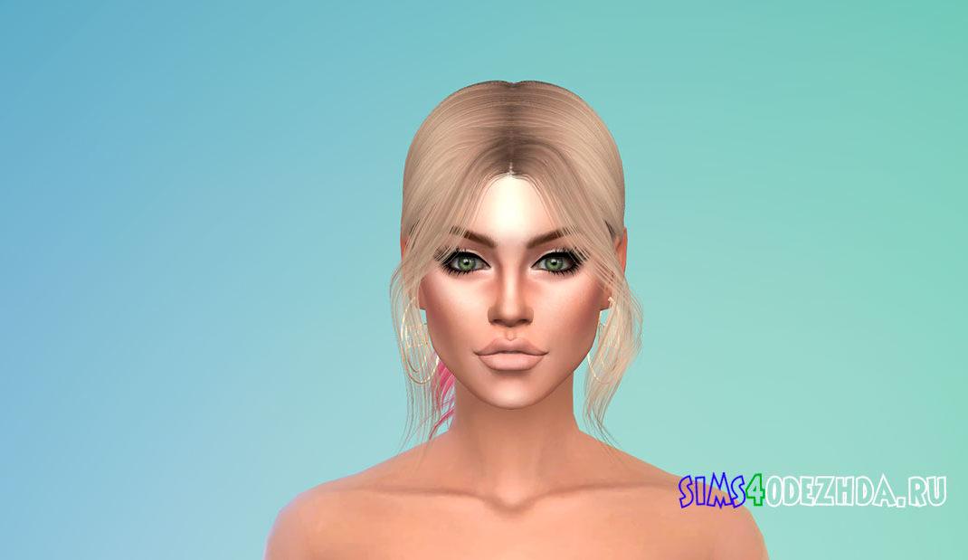 Волосы Euphoria для Симс 4 – фото 1