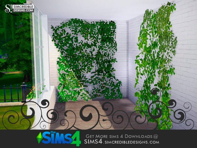 Живая зеленая стена для Симс 4 – фото