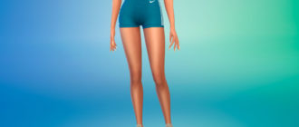 Беговые шорты Nike для Симс 4 – фото 1