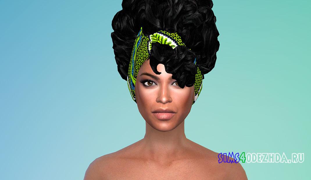 Кудрявые волосы в африканском стиле для Симс 4 – фото 1
