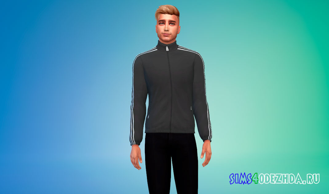 Мужская спортивка для Симс 4 – фото 1