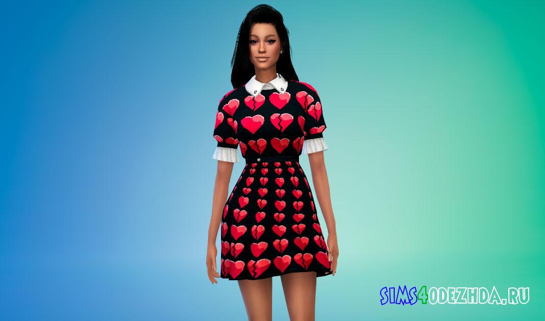 Платье ViViD для Симс 4 – фото 1