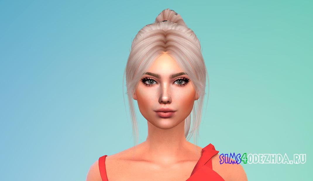 Прическа для девушек Barbiegirl Hair для Симс 4 – фото 1